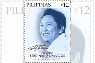 LOOK: PHLPost issues Marcos centenary stamp