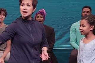 WATCH: Lea Salonga rehearses for Broadway's 'Once on This Island'