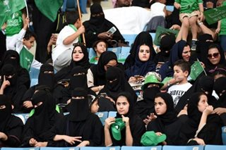 Saudis to allow women into sports stadiums from 2018
