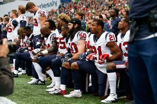 Most of Houston Texans kneel during anthem after owner's 'inmates' remark