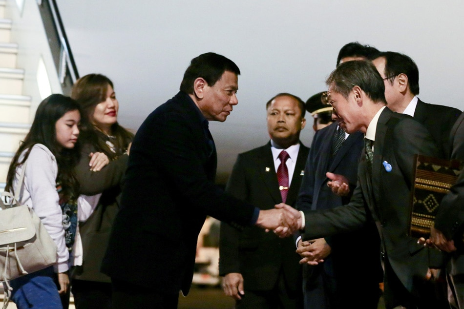 Duterte back from 'productive, engaging' Japan trip