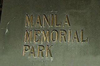 Man falls unconscious while driving inside Manila Memorial Park