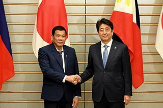 Palace: Duterte's Japan trip not a reward for Cabinet members