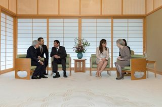 LOOK: Duterte discusses history with Japanese emperor, empress