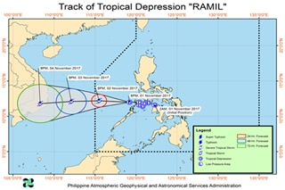 'Ramil' moves to West Philippine Sea