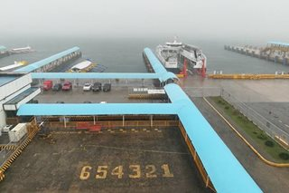 Batangas Port trips canceled due to typhoon Rosita