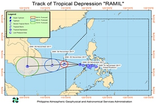 'Ramil' over West Philippine Sea; storm warning signals lifted