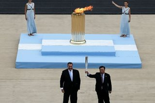 Winter Olympics: Flame arrives in S.Korea for 2018 Games