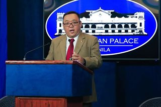 Roque vows thorough investigation into drugs seized near Palace