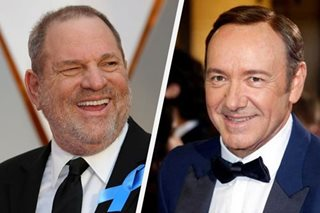 Spacey, Weinstein in police crosshairs over assault claims
