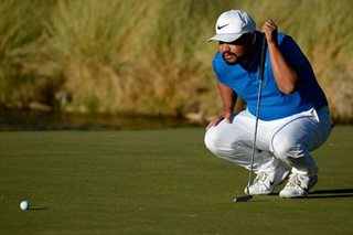 Spaun clings to share of lead at windy Las Vegas