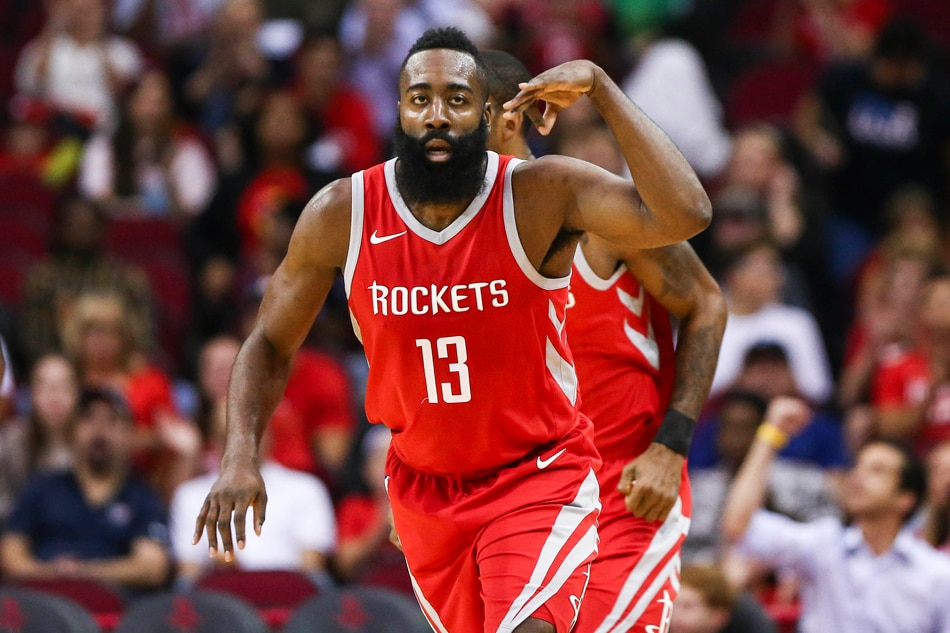 NBA: Harden scores career-high 56 as Rockets crush Jazz ...
