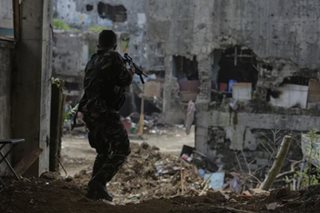 Military pursuing supporters of Marawi attackers