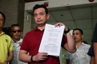 Trillanes vs Gordon