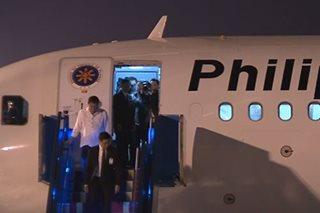 Duterte arrives in Vietnam for APEC Summit