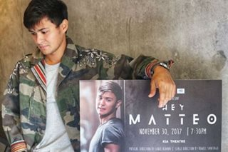 Matteo reacts to accusations he's using Sarah to promote projects