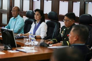 Robredo says AFP won't support revolutionary gov't