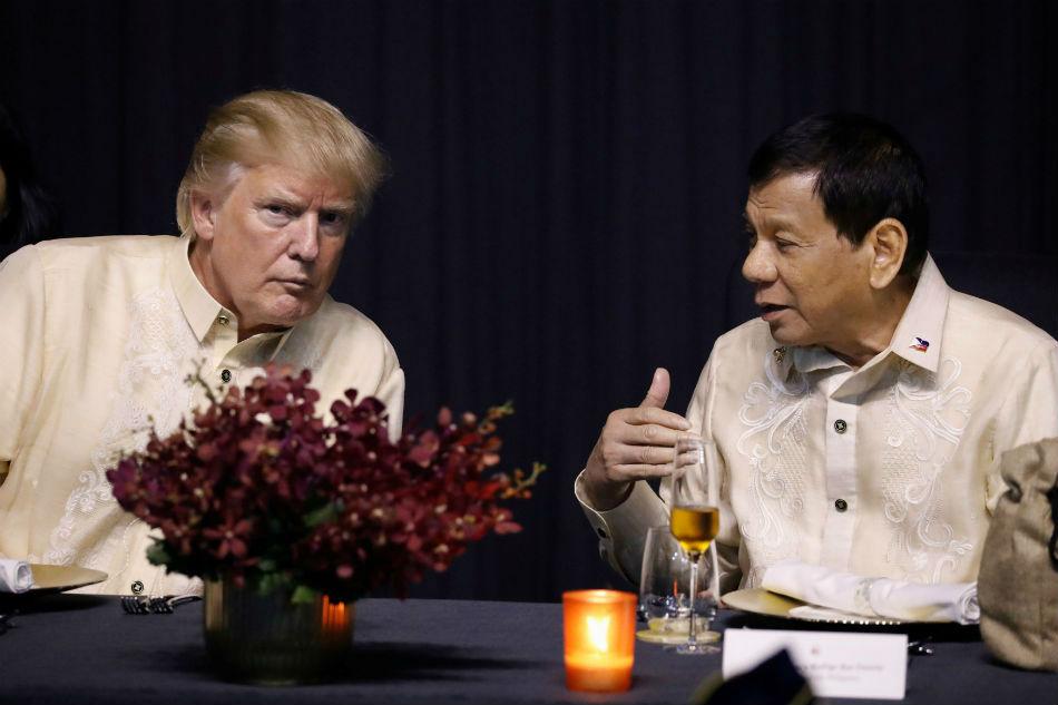Duterte and Trump: A 4-year serenade 3