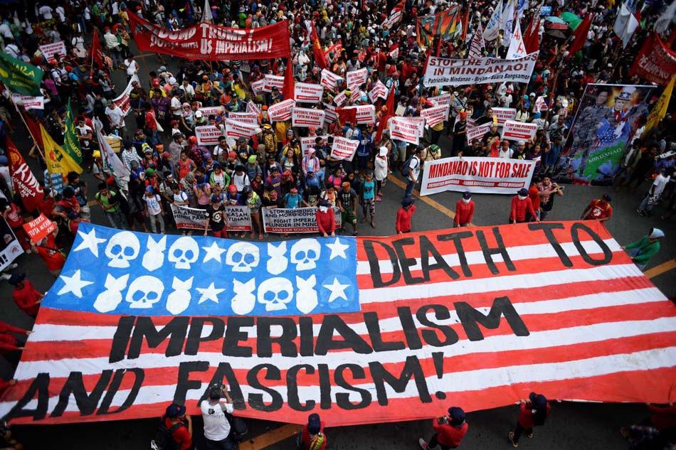Anti-Trump protests continue