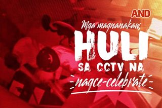 Mga magnanakaw, huli sa CCTV na nagce-celebrate