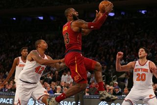 LeBron rallies Cavaliers over Knicks, Bucks win