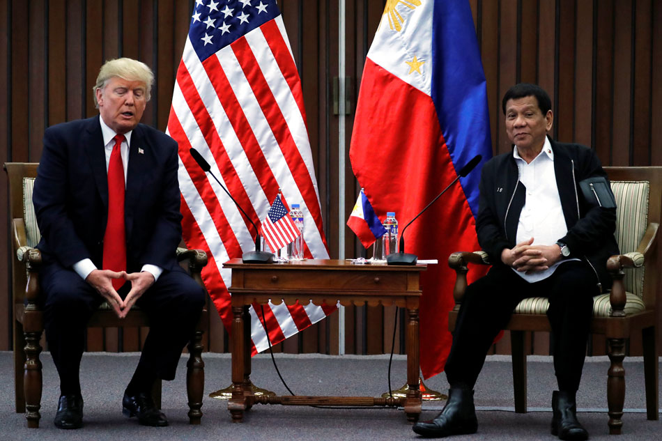 The US-Philippine relationship is central to two of Asia's thorniest issues