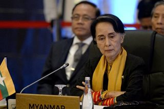 Suu Kyi defends court decision to jail Reuters journalists