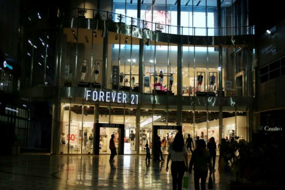 Forever 21 store at Jockey Plaza Mall in Lima Peru