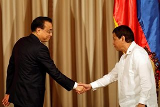 Duterte wants a legally binding South China Sea code