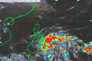 LPA off Bukidnon likely to develop into tropical depression: PAGASA