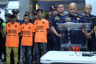 PNP arrests alleged Abu Sayyaf members