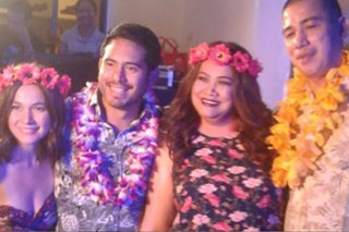 WATCH: Gerald Anderson in birthday party of Bea Alonzo's mother