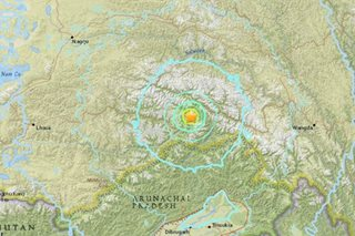 Earthquake of magnitude 6.3 strikes southern China - USGS