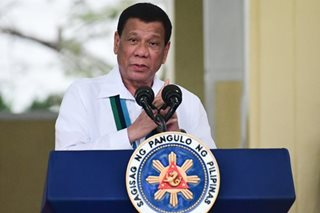 Duterte views high approval rating 'with all humility': Palace