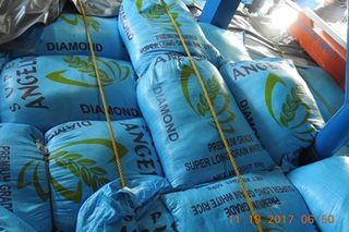 P4.6-M worth of smuggled rice seized at Davao port