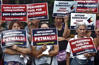 Sereno's supporters say no to 'petmalu' impeachment