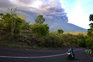 LOOK: Volcano in Bali, Indonesia erupts