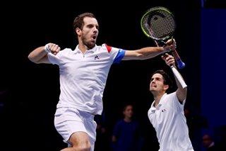 Noah's gamble rewarded as France take Davis Cup lead