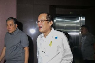 Aquino no-show at Sandiganbayan arraignment, asserts Mamasapano case should be dismissed
