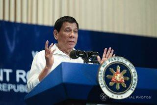 Duterte, magbibitiw umano sa pwesto kung...
