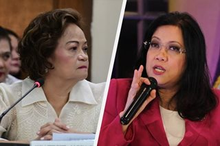 Sereno, De Castro in fiery exchange at oral arguments on ouster petition