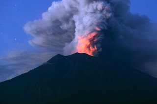 Indonesia officials extend Bali airport closure over volcanic ash
