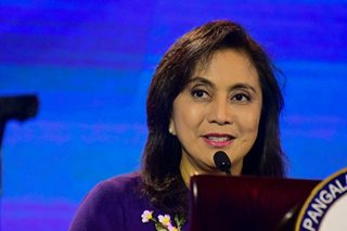 VP Robredo trust score rises to 'very good': SWS