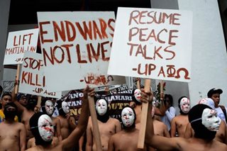 UP Oblation Run 2017 calls for halt in killings, resumption of peace talks