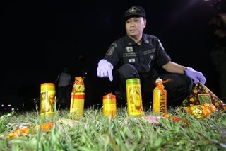 DOH renews warning against firecracker use