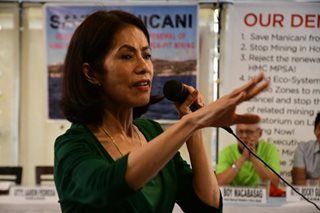 Gov't officials, civic groups mourn passing of Gina Lopez