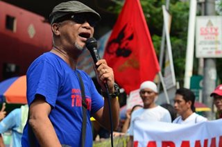 Piston head George San Mateo arrested for leading transport strike