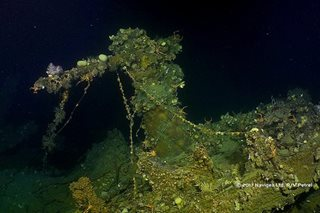 US warship found 650 feet deep in Ormoc Bay