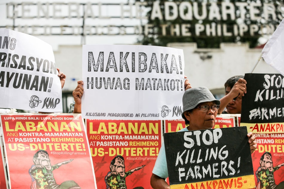 'Stop killing farmers'