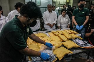PDEA seizes P57.6 million worth of shabu